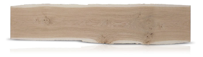 Dried oak plank